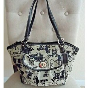 Coach Bag L0926-F14665, Horse and Carriage